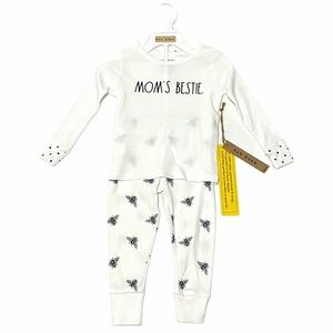 NEW Rae Dunn MOM's BESTIE Children's Pajama Set